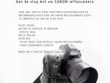 Aan de slag met uw CANON reflexcamera